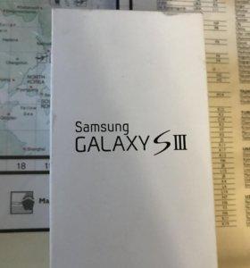 Коробка Самсунг Галакси s3