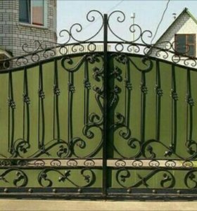 Заборы, ворота. Ковка.