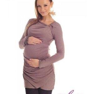Кофта-туника для беременных