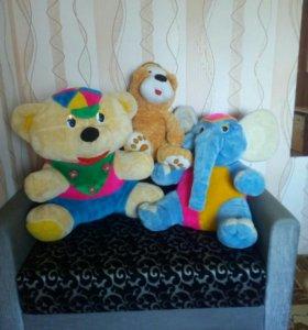 Большие Мягкие игрушки