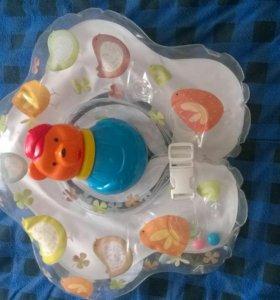 МЖК. Круг для малыша купальный+игрушка