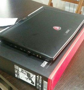 Игровой ноутбук MSI GP 72 6QF 272 RU Leopard Pro