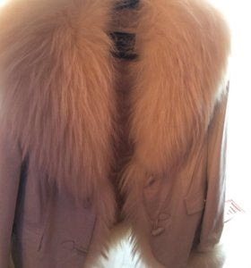 Куртка кожаная демисезон