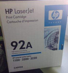 Оригинальный картридж лазерный HP 92A (C4092A)