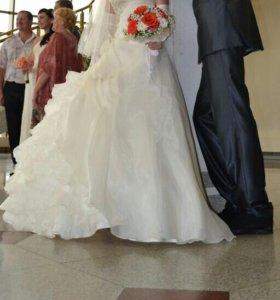 Красивое свадебное платье - Айвори