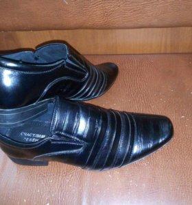 Туфли для мальчика 37размер