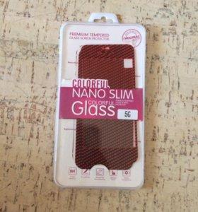 Декоративное защитное стекло.