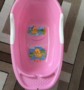 Детская ванночка и горка для купания