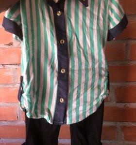 Костюм новый! Рубашка с лосинами!