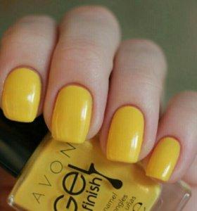 Новые лаки для ногтей гель-эффект Avon ⤵