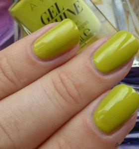 🎁+Лаки для ногтей гель-эффект Avon (новые) ⤵