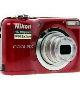 Компактная камера Nikon Coolpix A10 красный