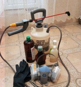 Услуги по уничтожению насекомых