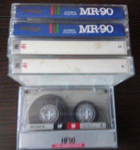 Аудио кассеты из 90 -х годов