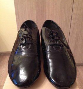 Туфли мужские для бальных танцев (стандарт)