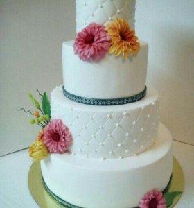 Свадебный торты на заказ