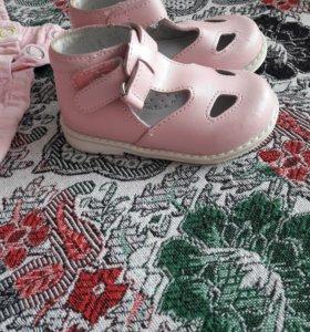 Вещи и обувь для девочки от 0-18 м.