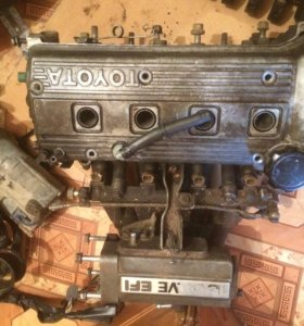 Двигатель на тойоту короллу А
