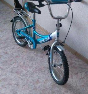 Детский велосипед! Ездили пару раз