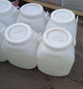 Пластиковые бочки 50 литров