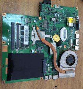 Системная плата MS-168B1 Ver:1.0 MSI CR630