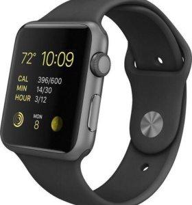 Apple Watch 42mm space grey срочно!!(торг уместен)