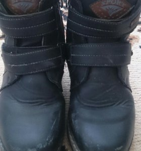 Ботинки р36 на мальчика