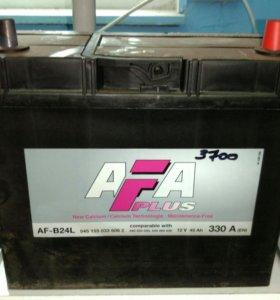 Аккумулятор 12в 45ач AFB24L