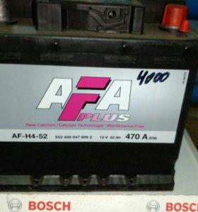 Аккумулятор 12в 52ач AFH452
