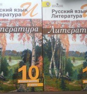 Литература 10 класс 2 тома