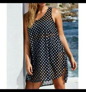 Туника платье пляжное