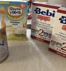 Смеси молочные