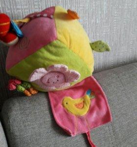Мягкая развивающая игрушка