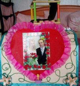 Чемодан для свадебного торжества