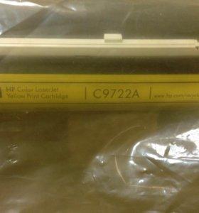 Оригинальный картридж лазерный HP 641A (C9722A)