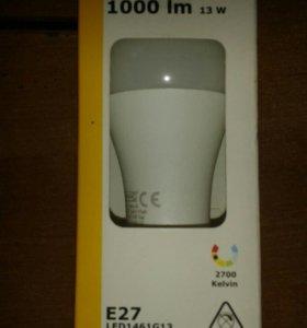 """Лампа светодиодная IKEA """"RYET"""" Е27 1000 лм 13 Вт"""