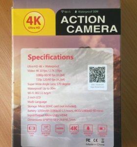 Eken H9 Ultra HD 4K экшен камера