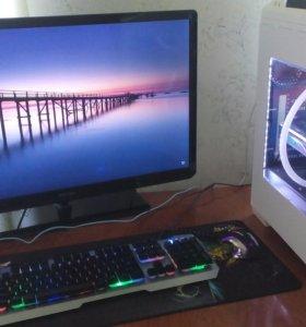 Компьютер для работы+дисплей