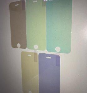 Стекло хамелеон на iPhone 5/5s/SE