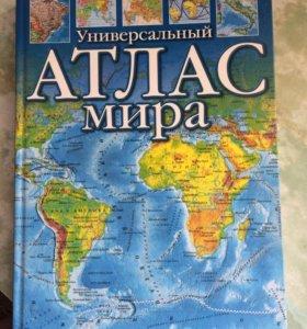 Книга Универсальный атлас мира
