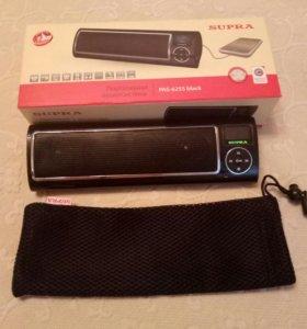 Портативная аудиосистема(SUPRA PAS-6255 black)
