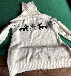 Свитера и платье для беременной