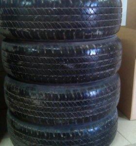 Шины Bridgestone R17 225/60, 205/60 лето, б/у