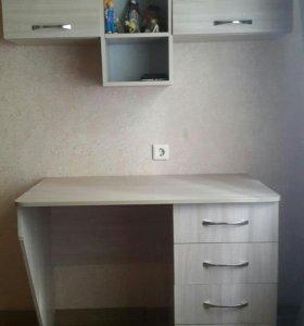 Стол письменный+тумба