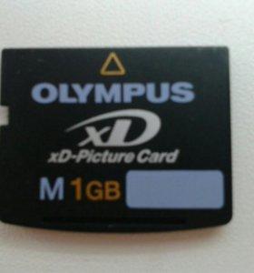 Olimpus карта памяти