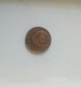 Монета СССР 1988 г. Пробная