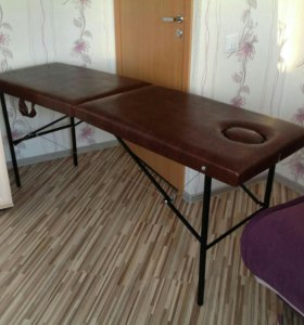 Новый складной массажный стол brown 🍫