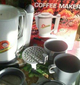 Автомобильный подогреватель воды, чая, кофе