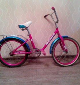 Велосипед- юниор.Возраст 7-11лет.