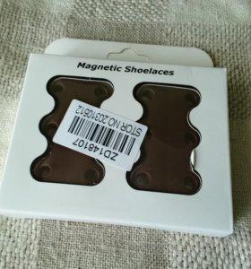 Магнитные замки для шнурков